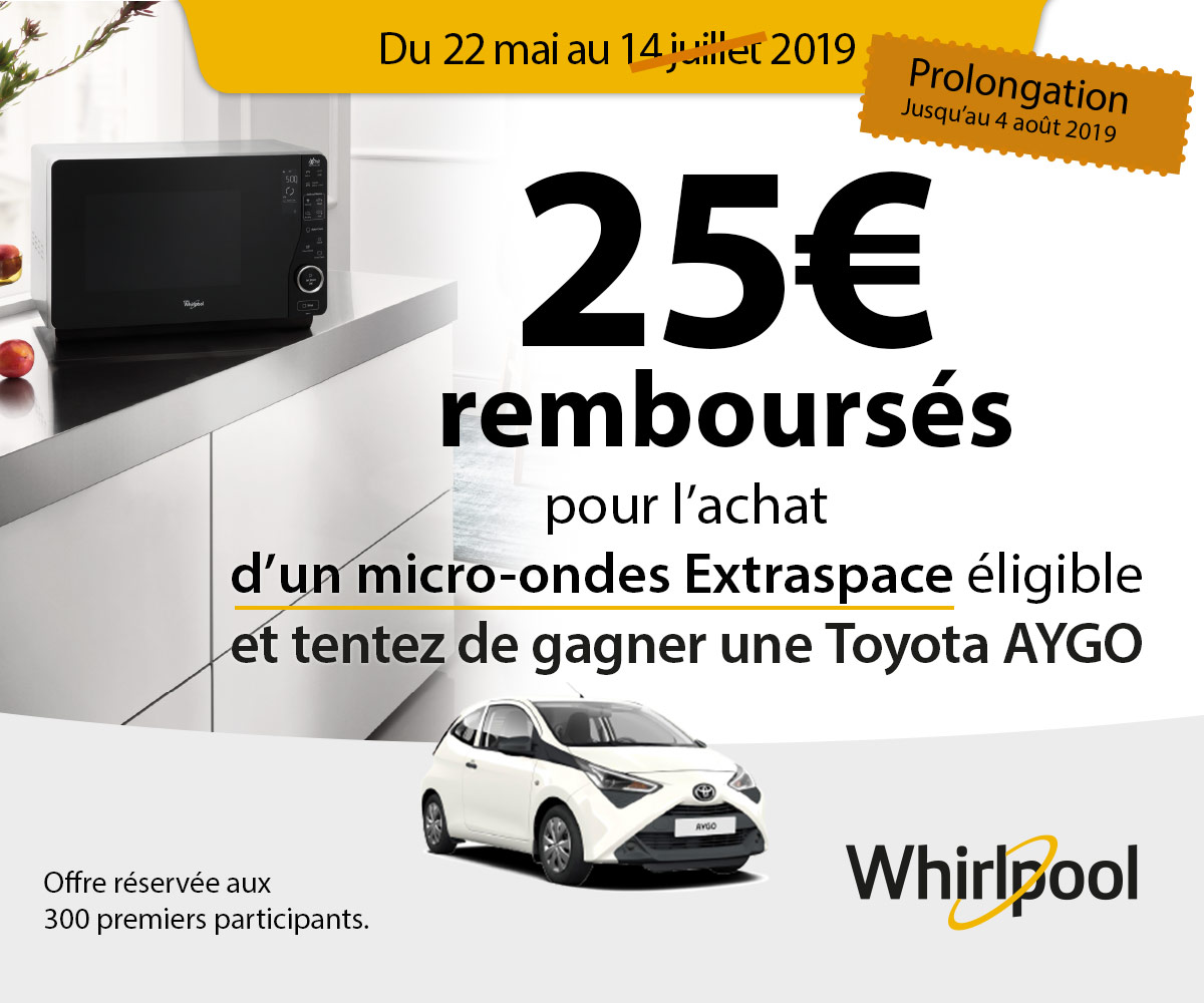 Offre Micro-ondes Extraspace