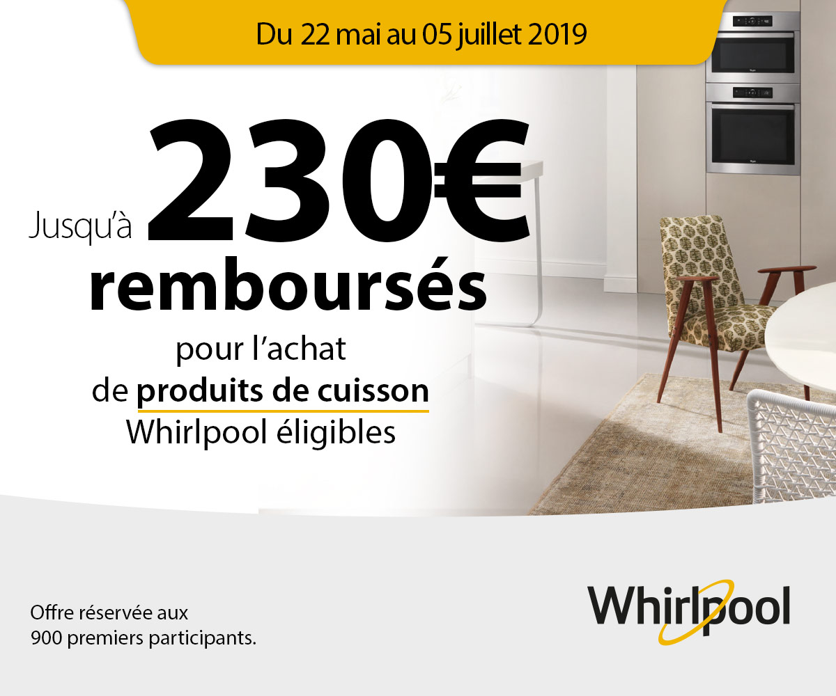 Offre Absolute Whirlpool