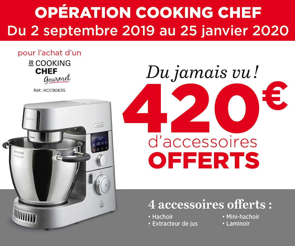 KENWOOD - Offre Noël Cooking Chef