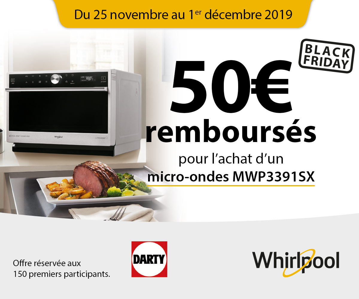 Offre Black Friday Whirlpool
