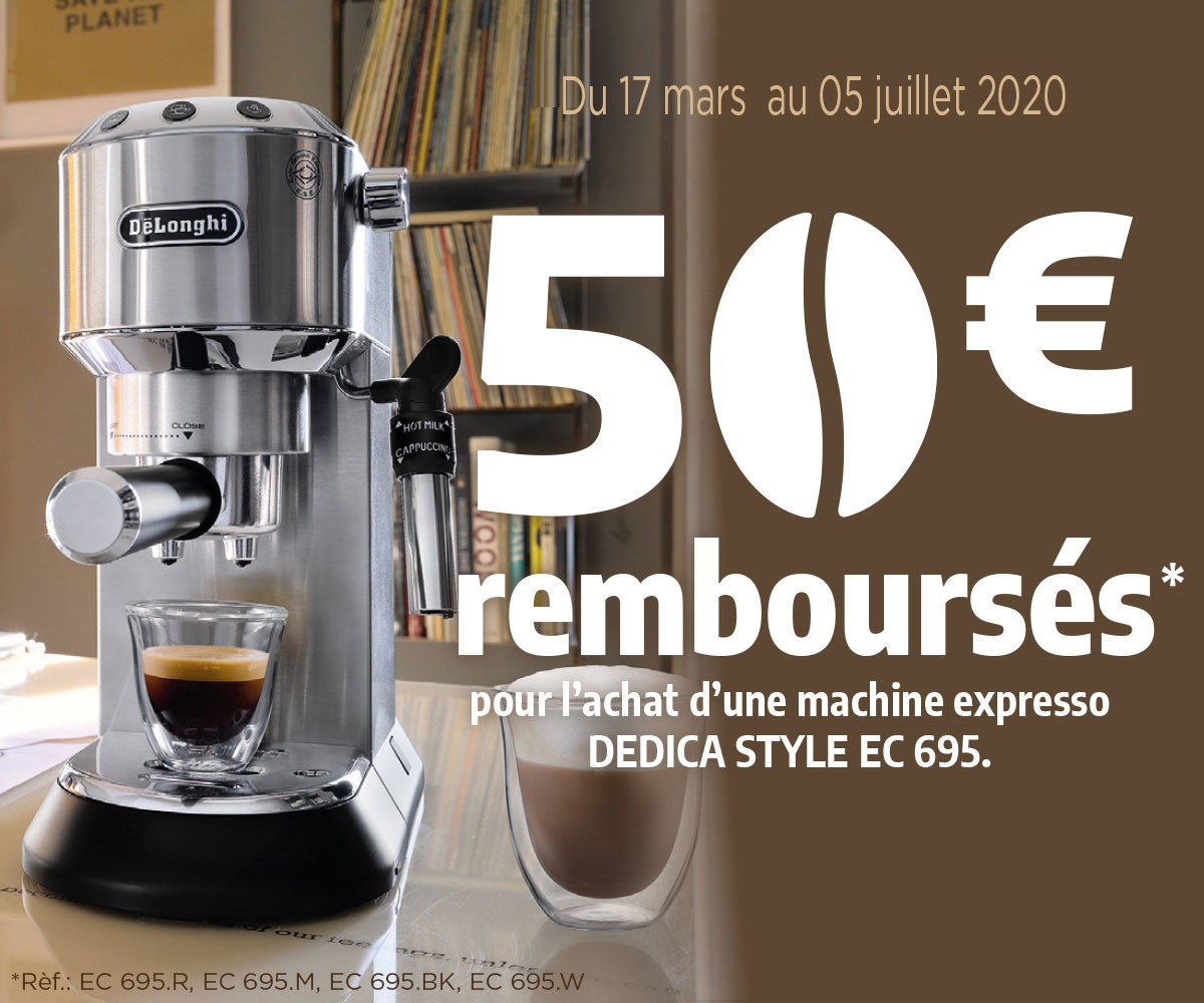DELONGHI - DEDICA MACHINE EXPRESSO 2020