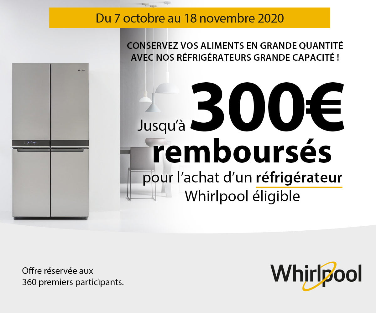 WHIRLPOOL Opération Froid