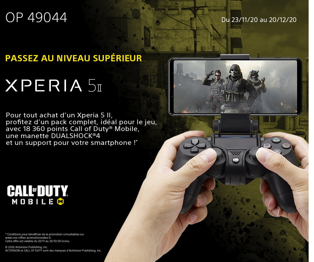 49044 Offre XPERIA 5 II – Pack Call of Duty Mobile®